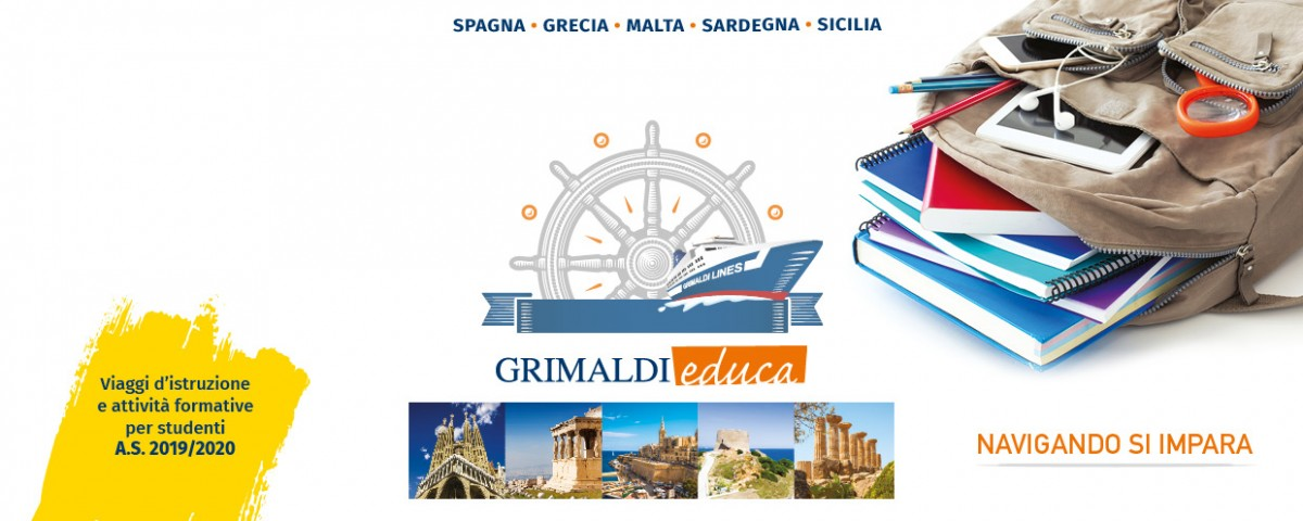 Organizza i tuoi viaggi con Grimaldi Lines