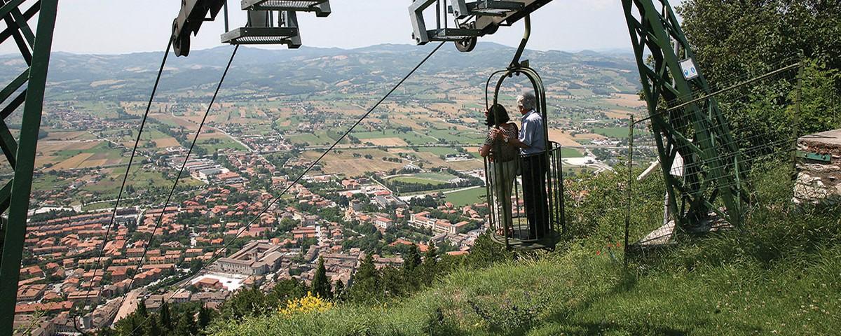 Visita Gubbio con Funivia Colle Eletto
