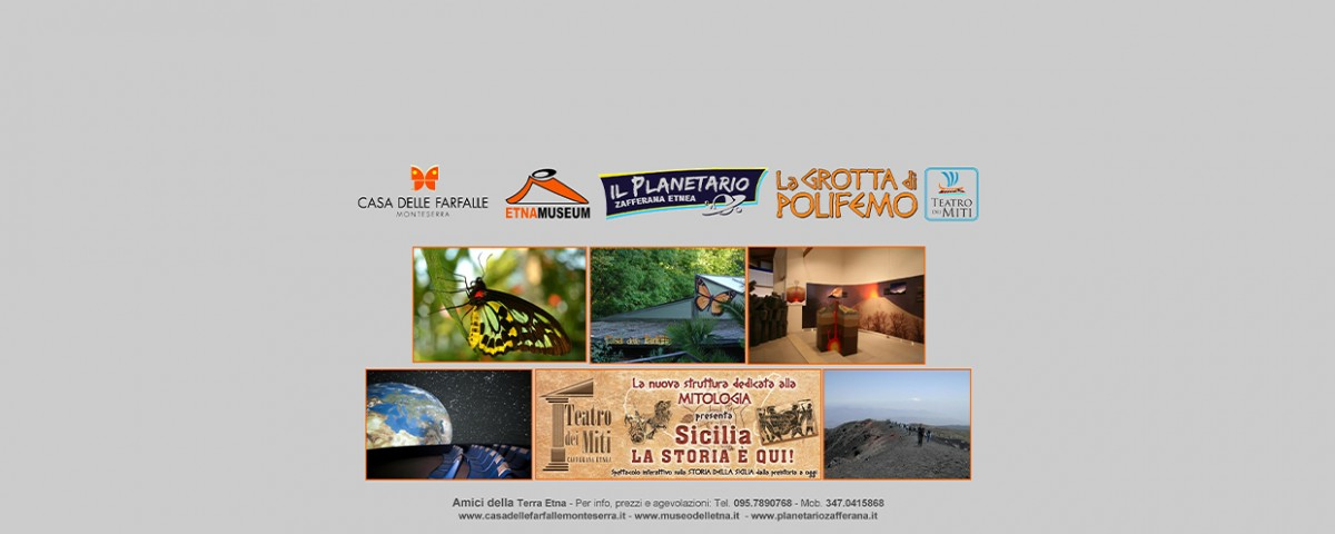 Visita Case delle farfalle e Museo Etna - Amici della Terra Etna