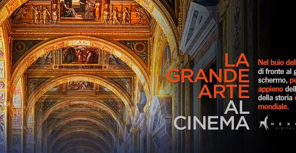 La grande arte al cinema