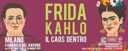 "Visita la mostra Frida Kahlo ""Il Caos Dentro"" - Milano"