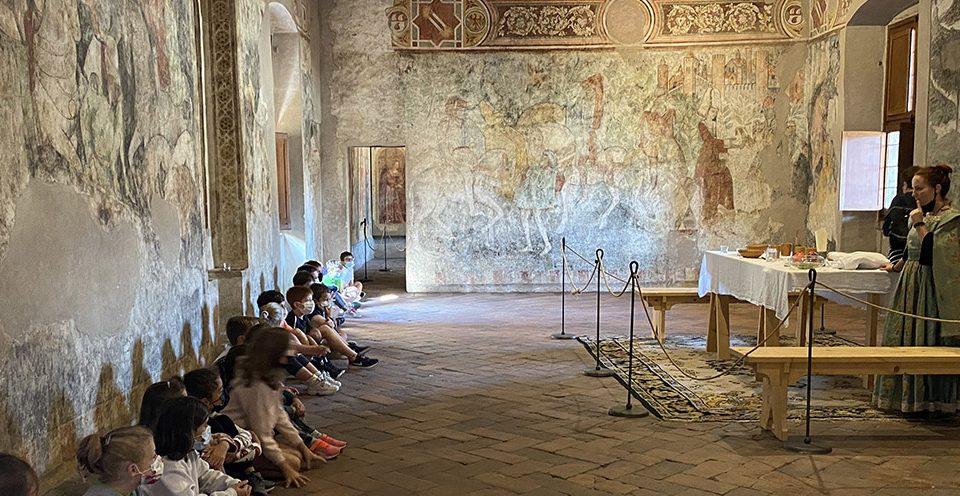 Gita scolastica al Castello di Malpaga - Bergamo