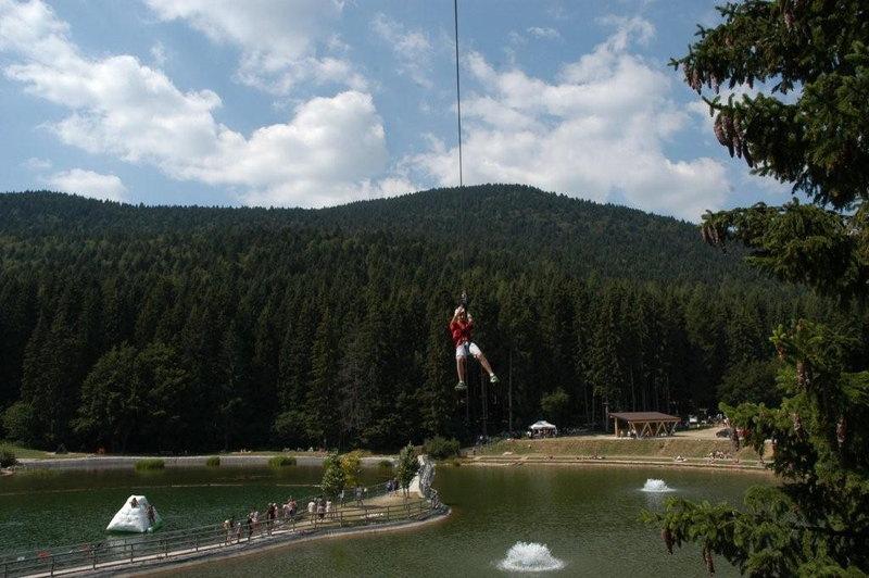 Visita l'Acropark Laghetto Roana