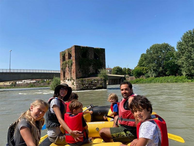 Visita Adige Rafting Verona