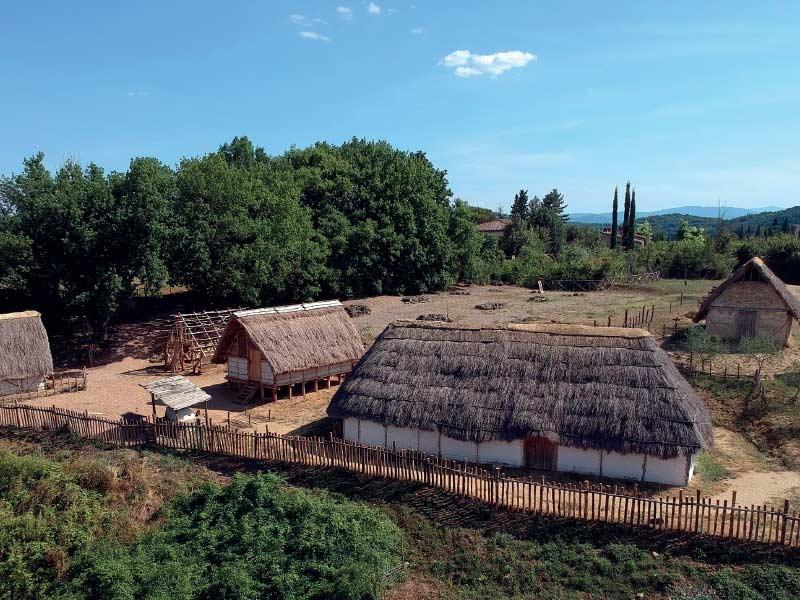 Gita scolastica all'Archeodromo di Poggibonsi - Siena