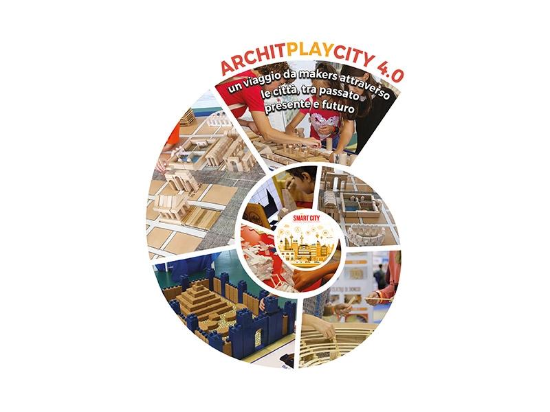 Partecipa all'evento ArchitPlayCity 4.0 nella tua scuola
