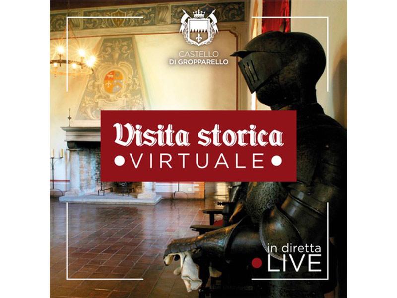 Visite virtuali e Didattica a distanza con il Castello di Gropparello - Piacenza