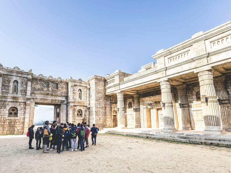 Gita scolastica a Cinecittà - Roma