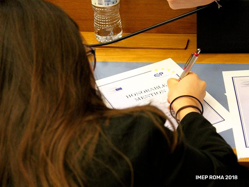 European People organizza la più grande simulazione del Parlamento Europeo in Europa - Viterbo