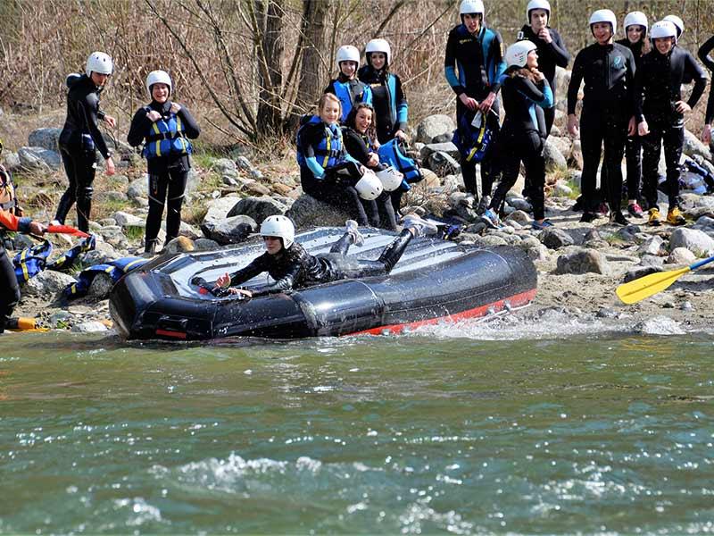 Rafting in Valsesia - Monrosa - Vercelli