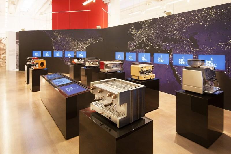 Visita il MUMAC - Museo della macchina per caffè espresso di Gruppo Cimbali