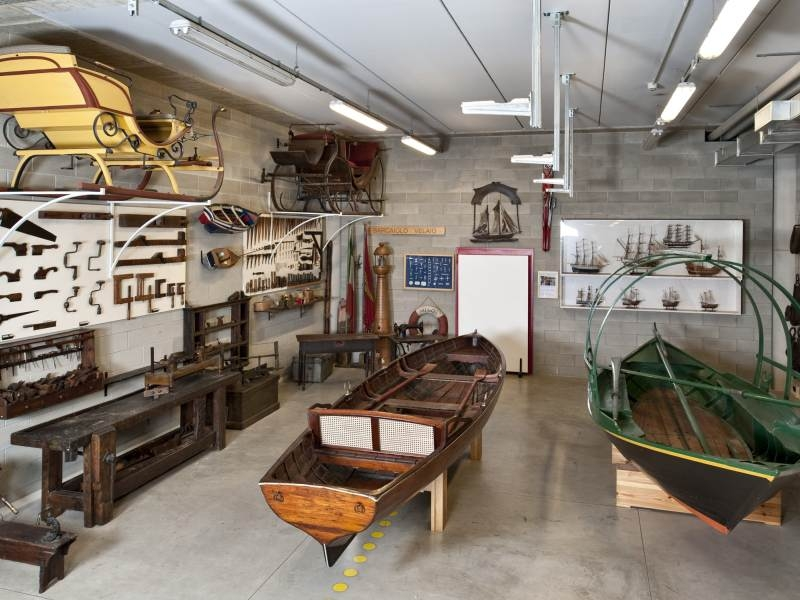 Visita il Museo del Falegname Tino Sana