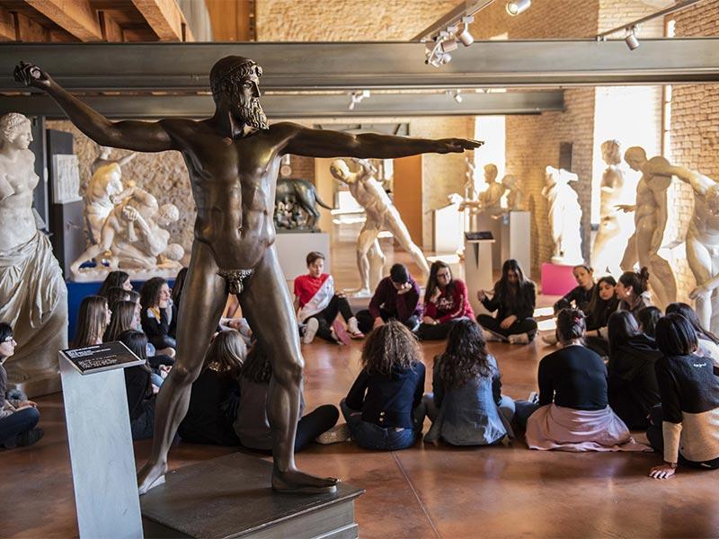Visita il Museo Tattile Statale Omero - Ancona