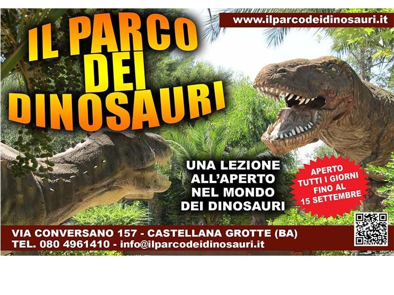 Visita il Parco dei Dinosauri