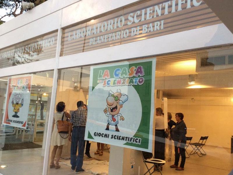 Gita scolastica al Planetario di Bari